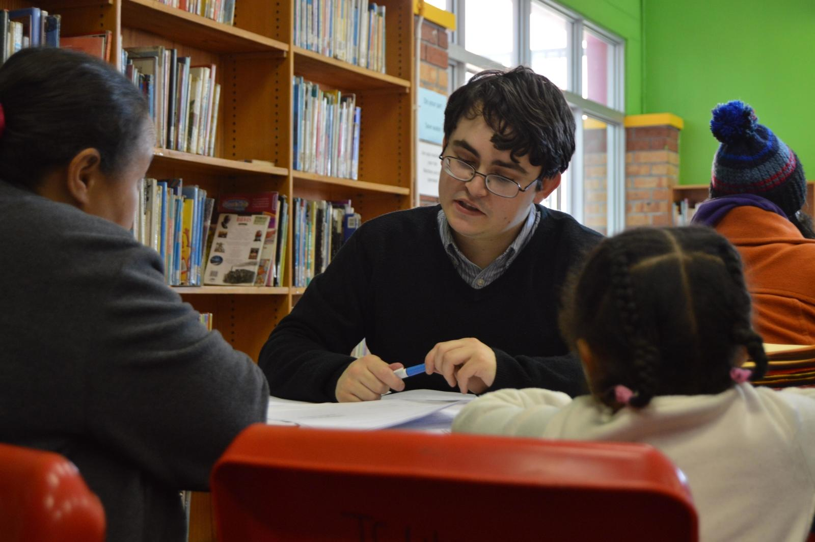 Legal clinic in session in Mitchells Plain, Cape Town